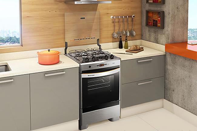 Tipos de fogões Cooktop, de piso, embutido ou industrial?