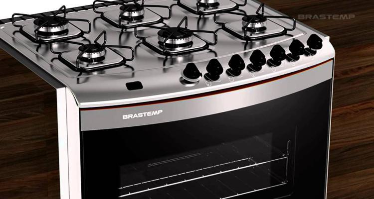 Modelo de fogão inox para 2017