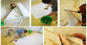 Como aplicar papel de parede do jeito correto